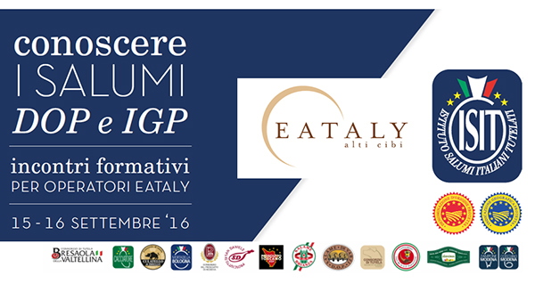 Eataly and cold cuts Consortia together for Made in Italy