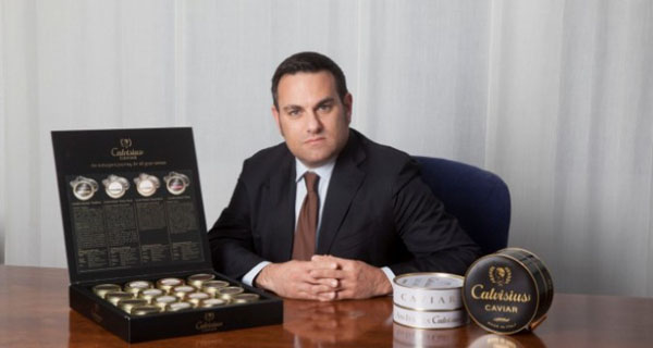 Agroittica brings caviar on the russian tables