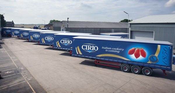 Cirio and Filippo Berio will join force in the Uk market