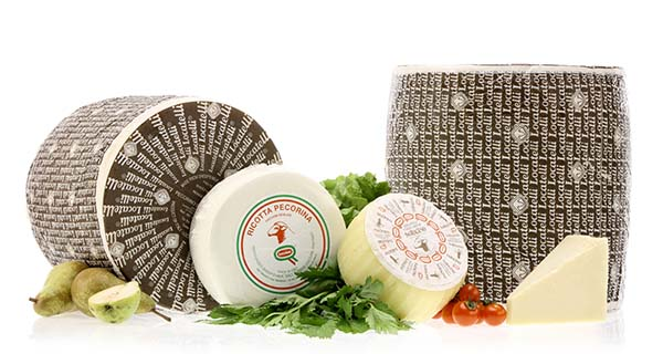 Italian cheese, the United States in the lead