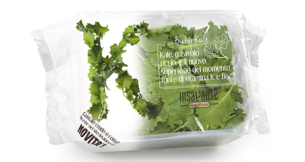 Insal'arte, the superfood of the moment is Kale