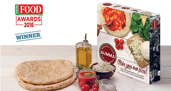 Aumma frozen Pizza is the 2016 Italian Food Awards winner