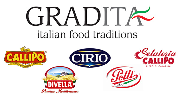 Five Italian food leading companies together: Gradita is born
