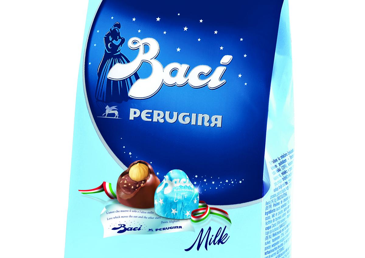 <b>Baci Perugina</b> chocolate love story unfolds