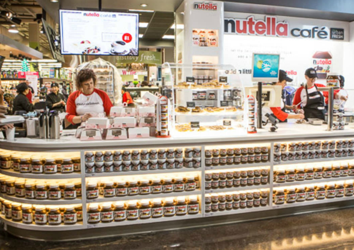 The first Nutella Café to open in Chicago