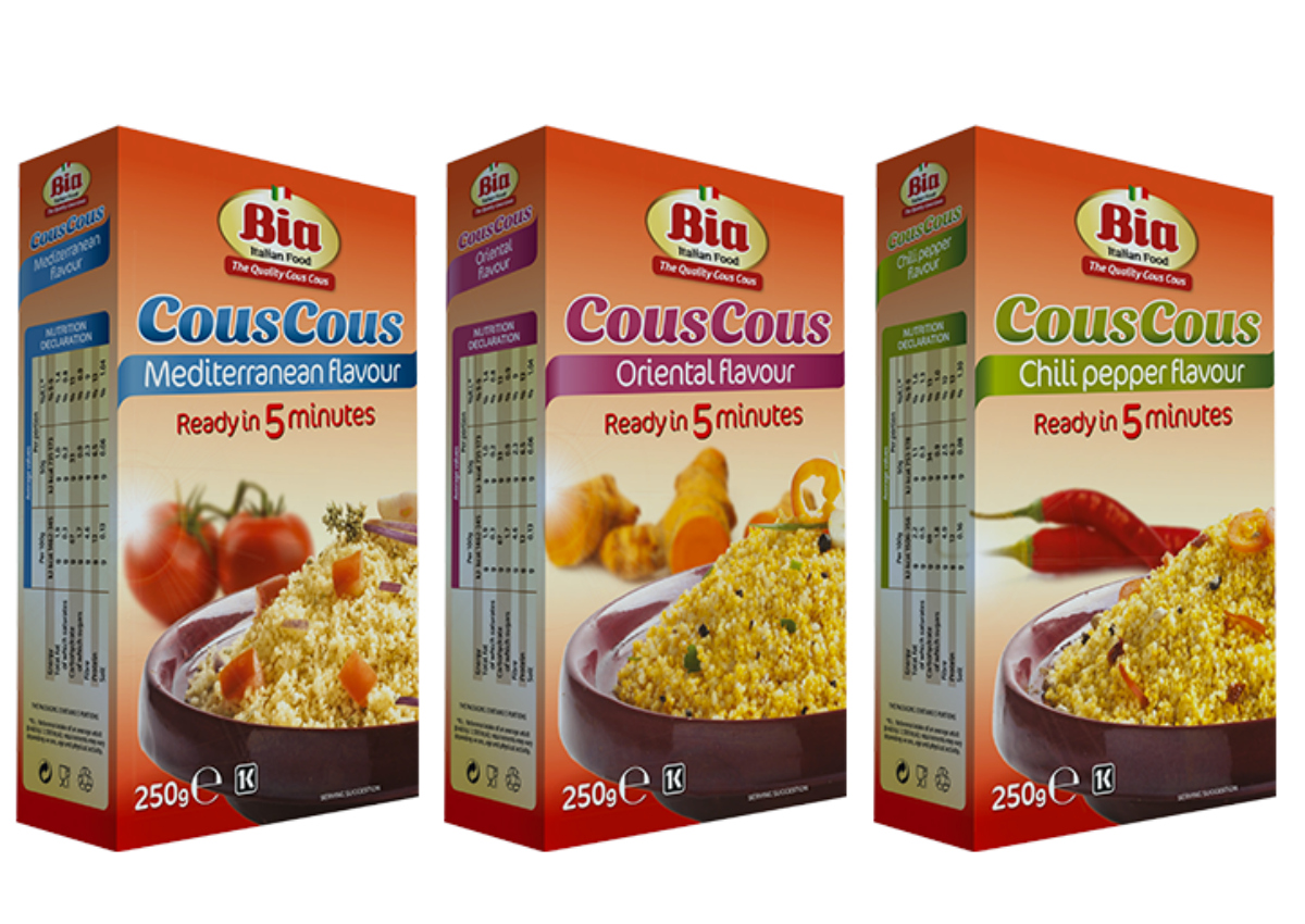 BIA: couscous from Italy