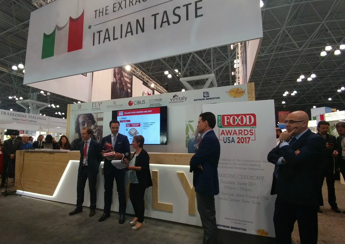 Italian FOOD Awards Summer Fancy Food Show 2017: the winners