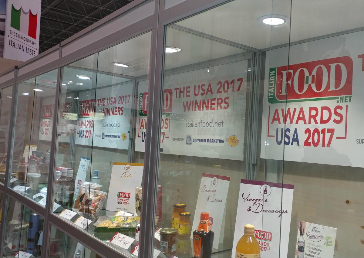 Italian FOOD Awards USA 2017: nominees and winners