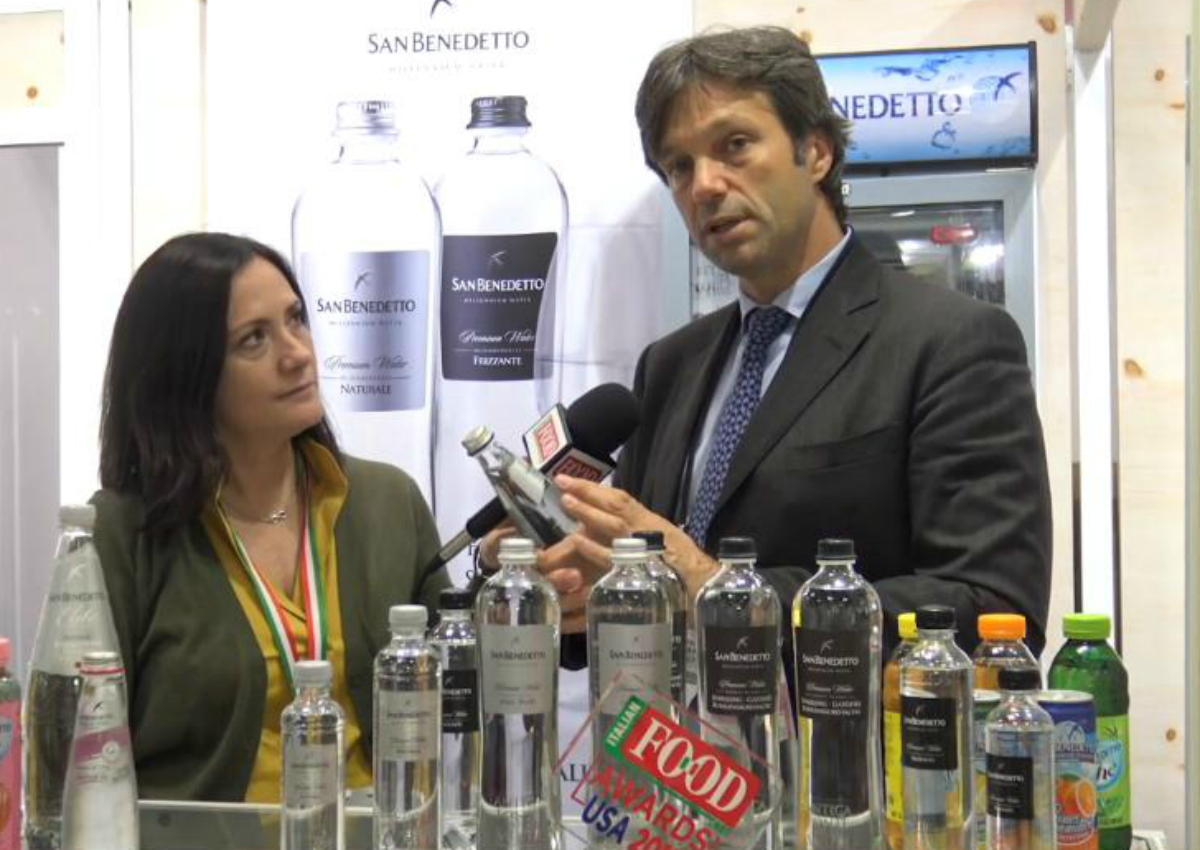 San Benedetto focuses on exports to the USA