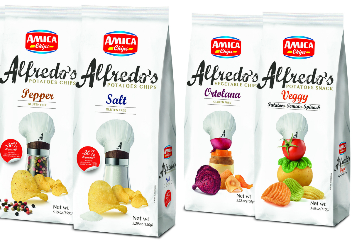 Amica Chips, Made in Italy chips & snacks
