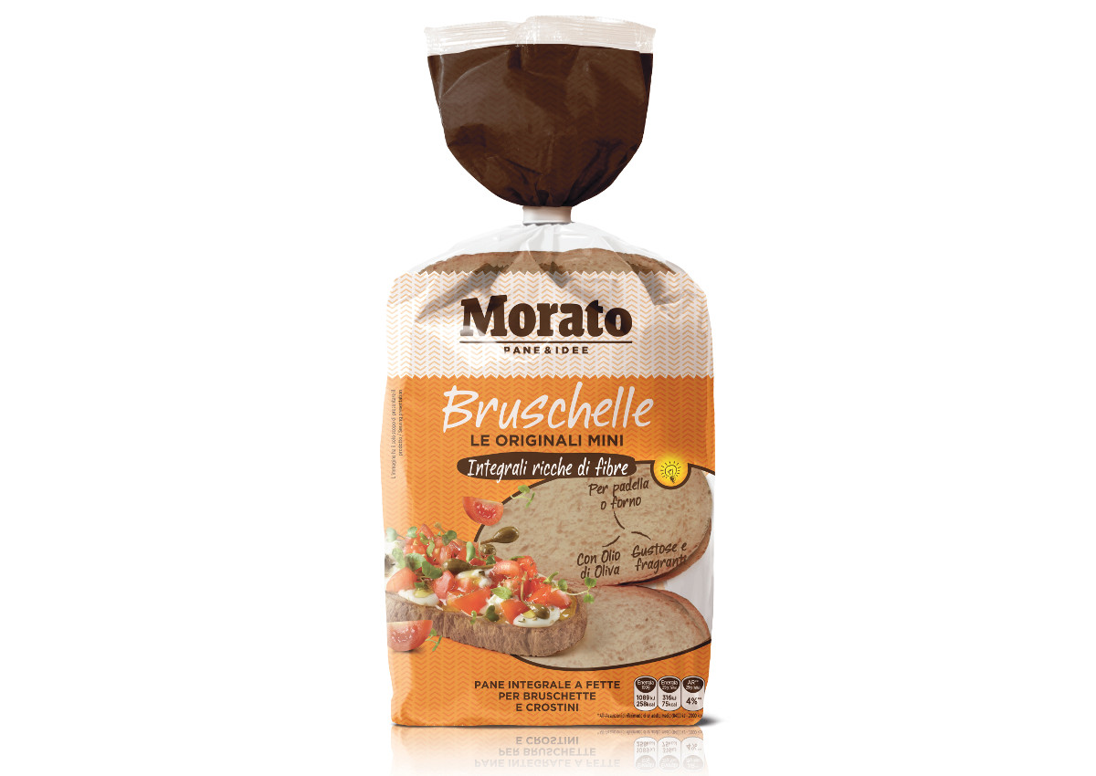 Morato, when Bruschetta is wholegrain