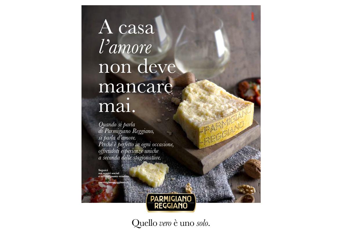 Parmigiano Reggiano's revamping