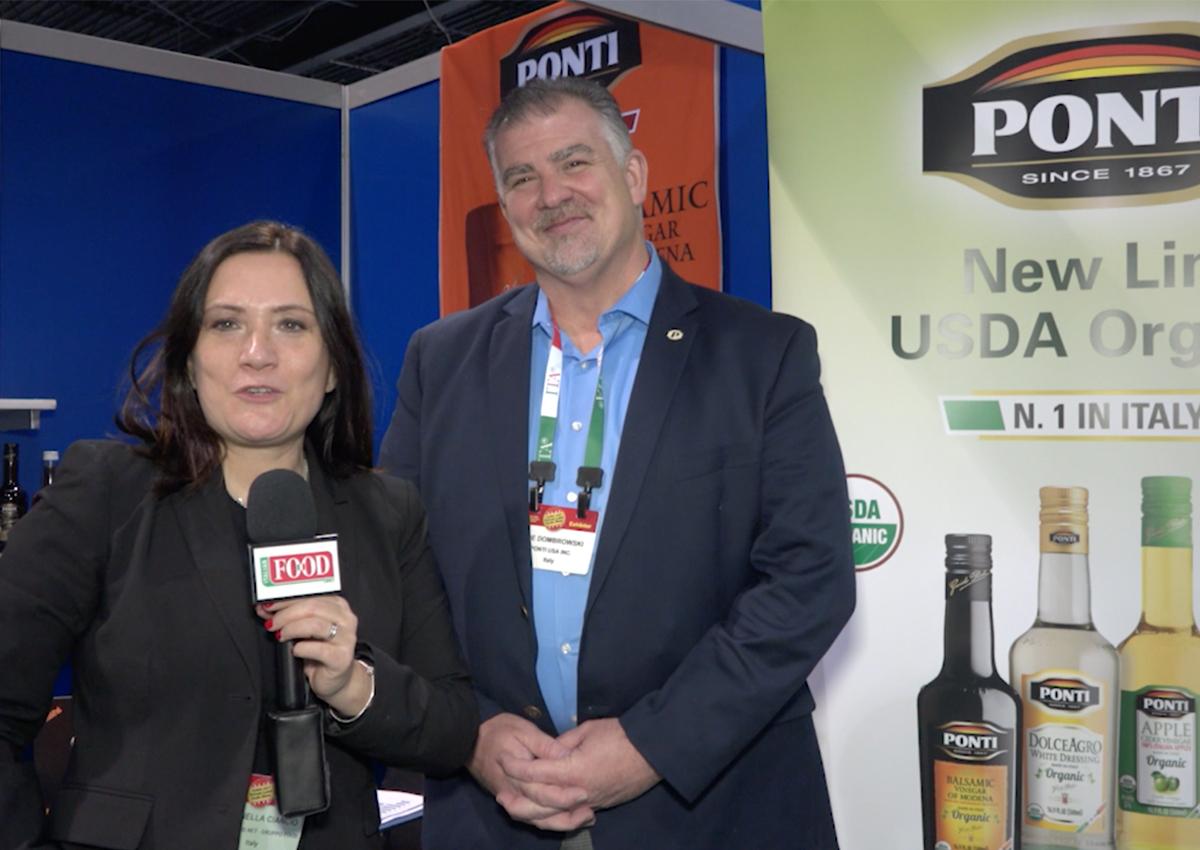 Ponti adds organic specialty to vinegar