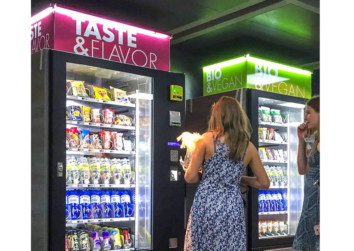 Vending machines, boom of Italian export