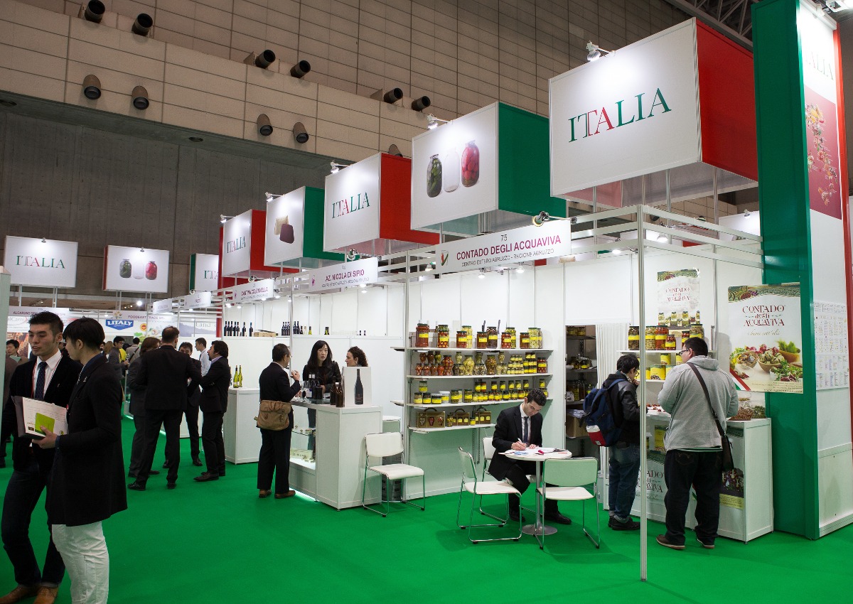 Italy comes in force to Foodex Japan