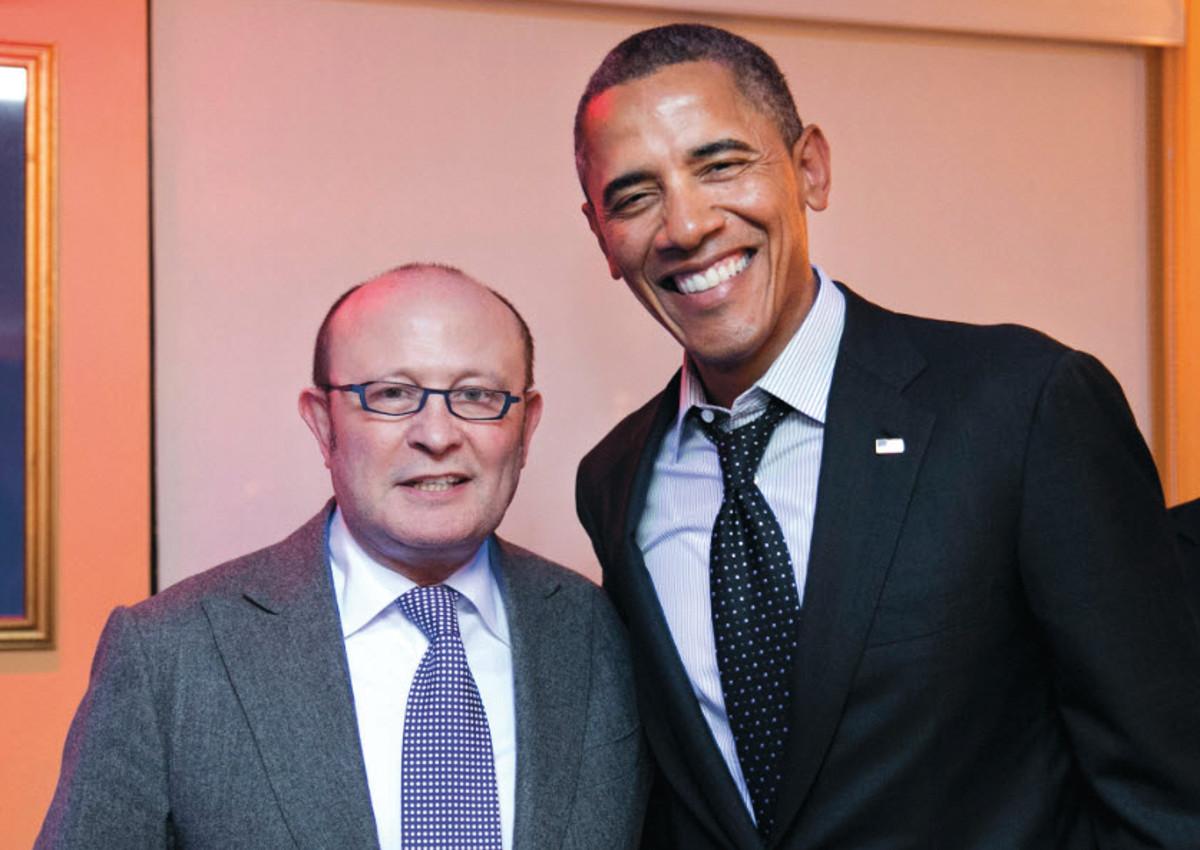 Café Milano charms US presidents