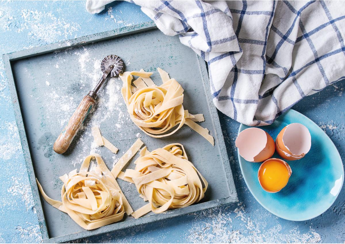 Fresh pasta, a gourmet solution