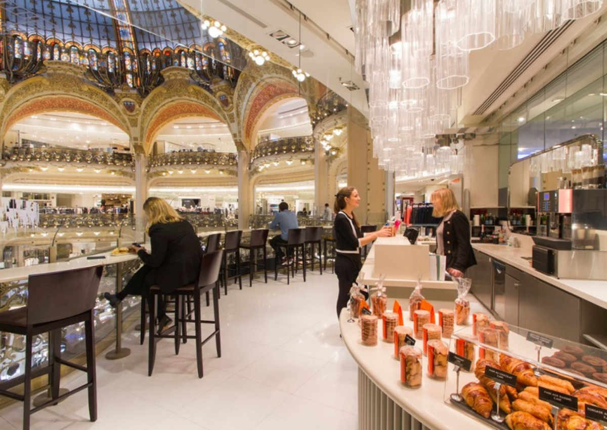 eataly to open at galeries lafayette. Black Bedroom Furniture Sets. Home Design Ideas