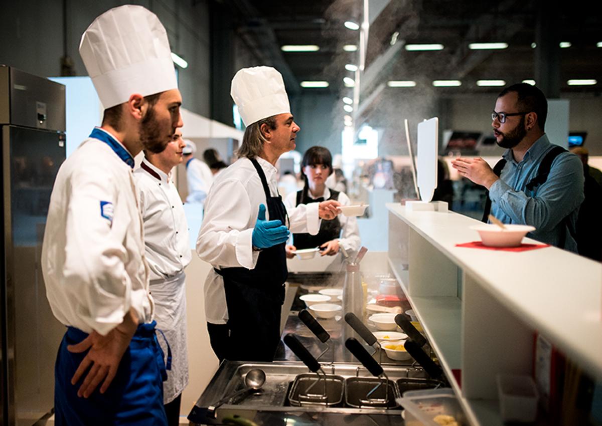 Cibus 2018-cuochi-Italian Food-top buyers