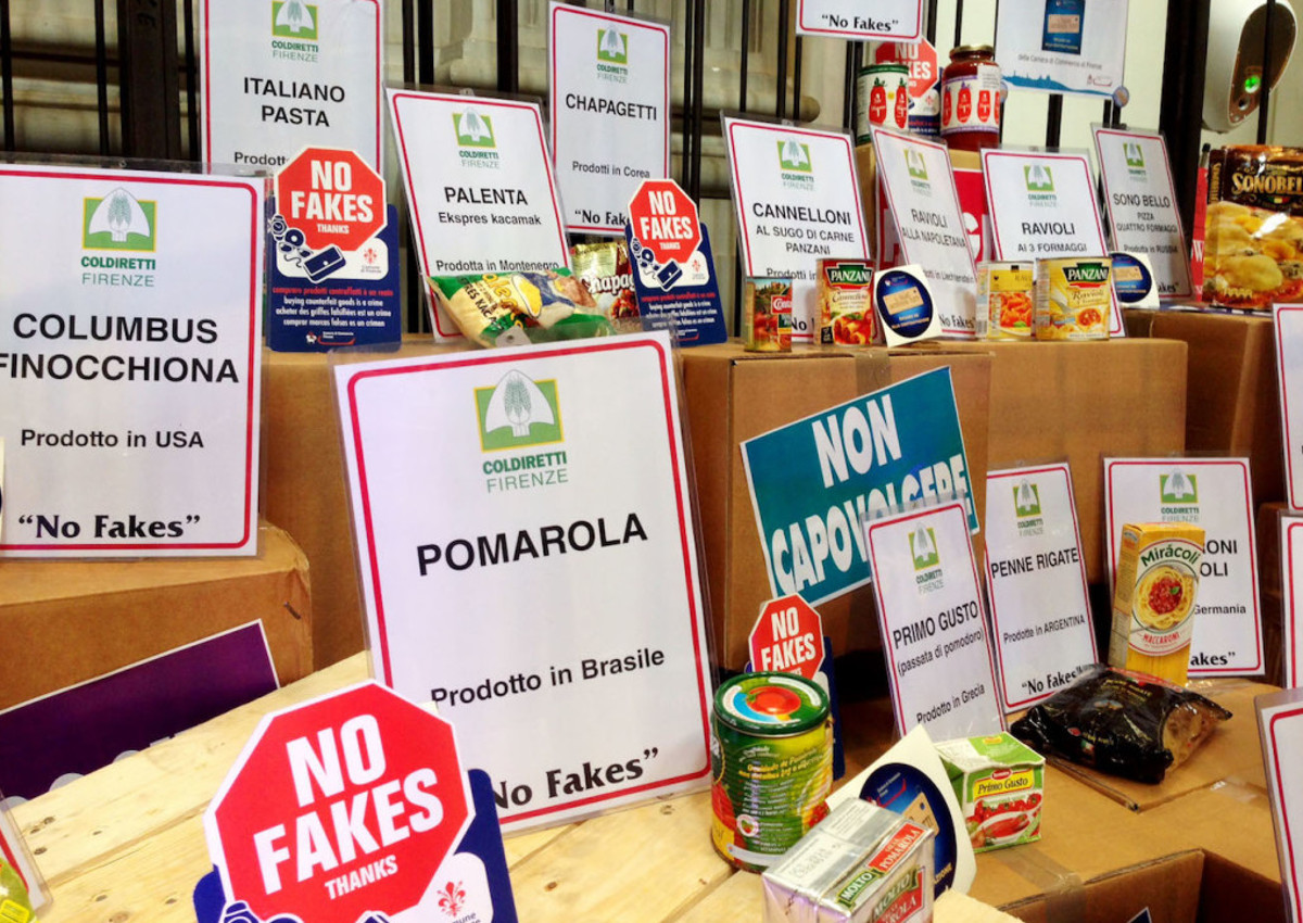 Fines for fake labels are triggered in Italy