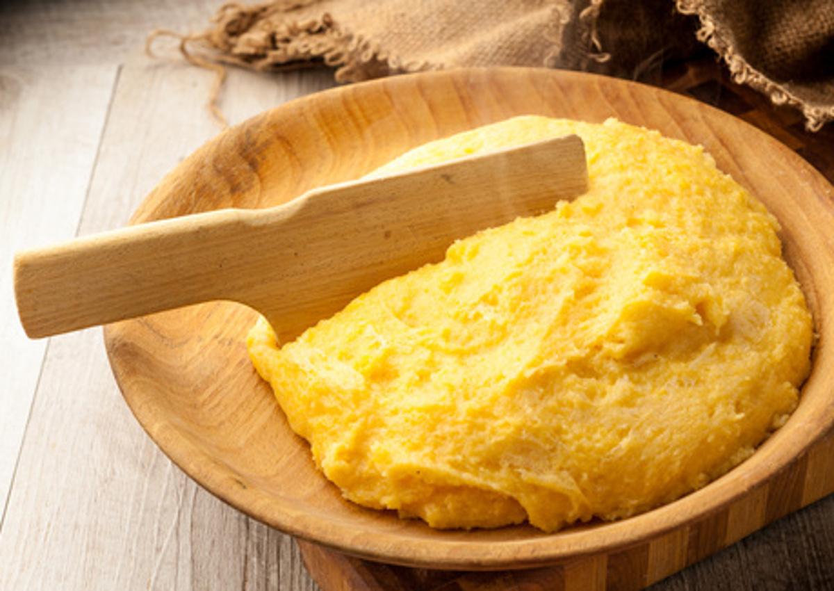 maize polenta-Lombardy