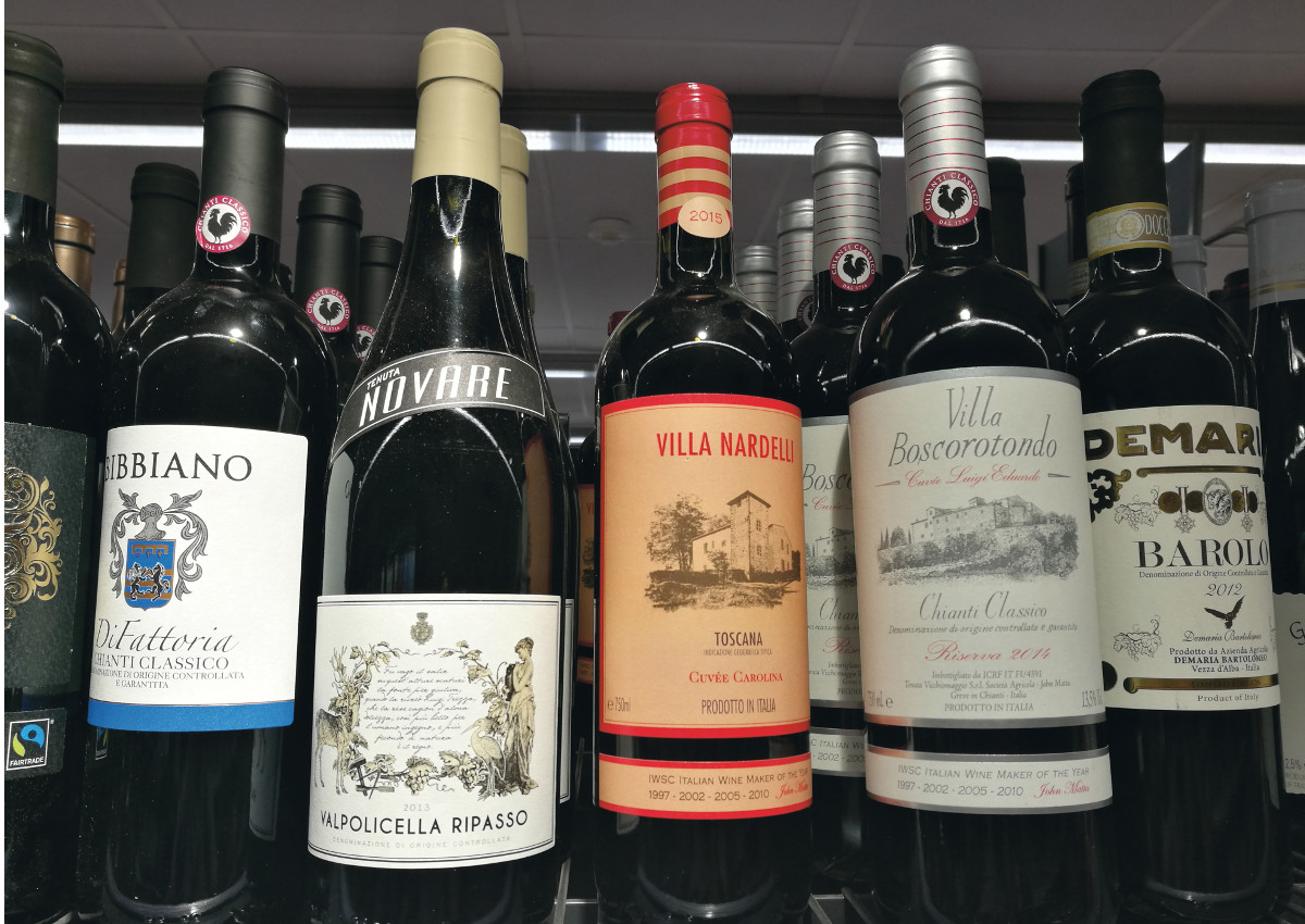 British seek out southern Italian red wines