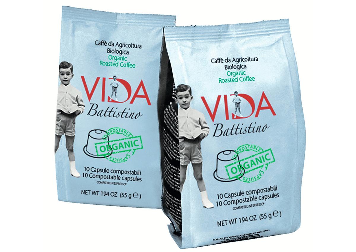 Compostable Nespresso compatible Organic coffee capsules - Torrefazione Caffè Michele Battista