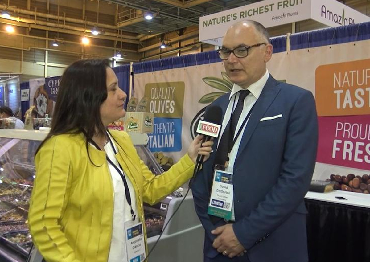 Ficacci unveils new olive snacks for US market