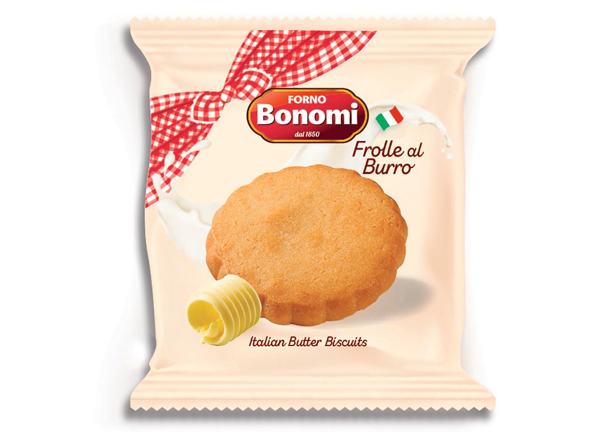 Italian Butter Cookies Round - Forno Bonomi