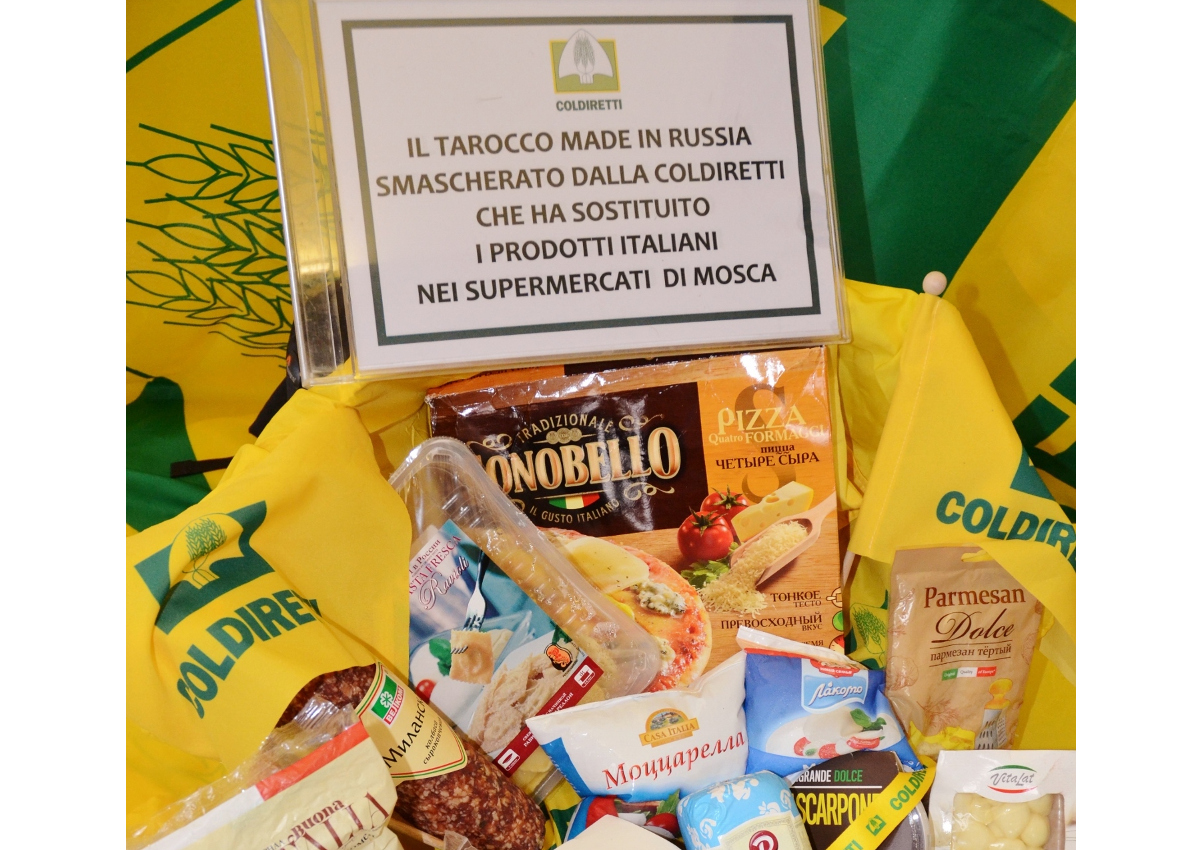 Embargo risks for Italian food in Russia