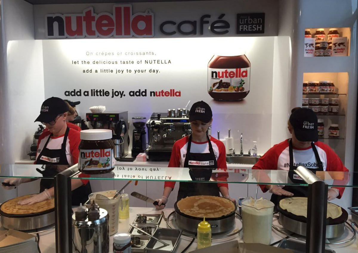 Nutella Café to open in New York City