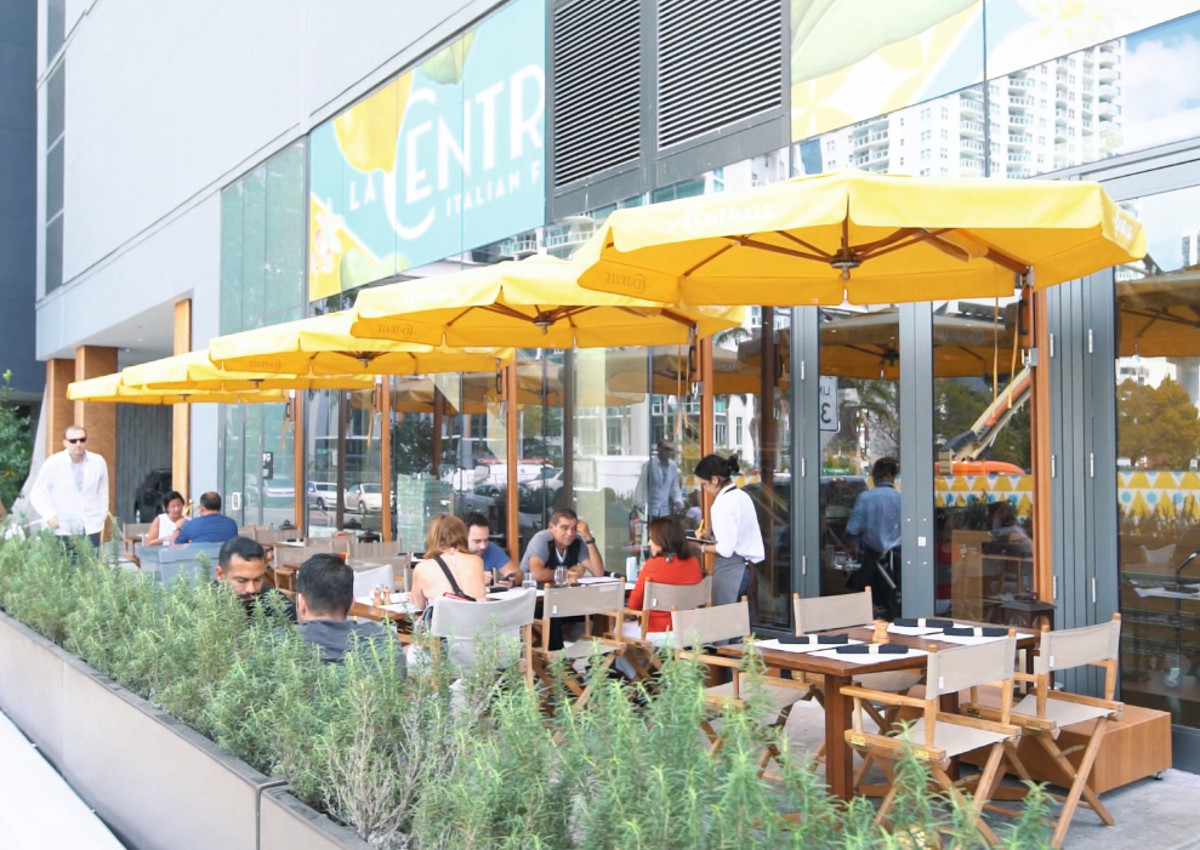 La Centrale in Miami takes food hall to the next level