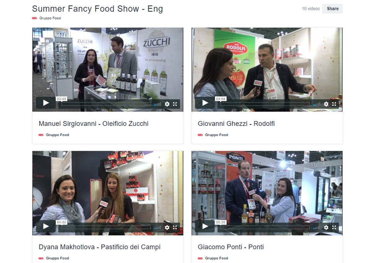 SFFS-Summer Fancy Food Show 18-Italianfood.net-Italian companies-interviews
