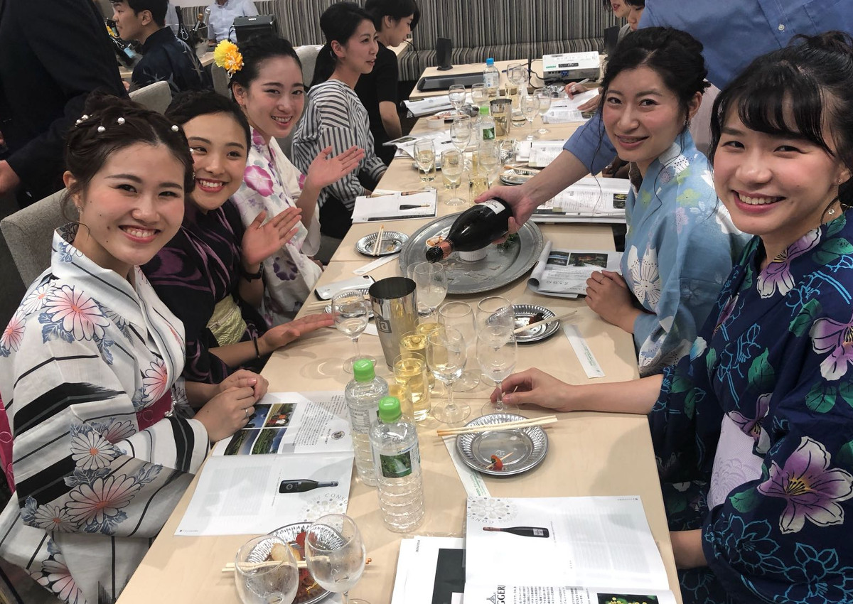 Prosecco DOC: growing success in Japan