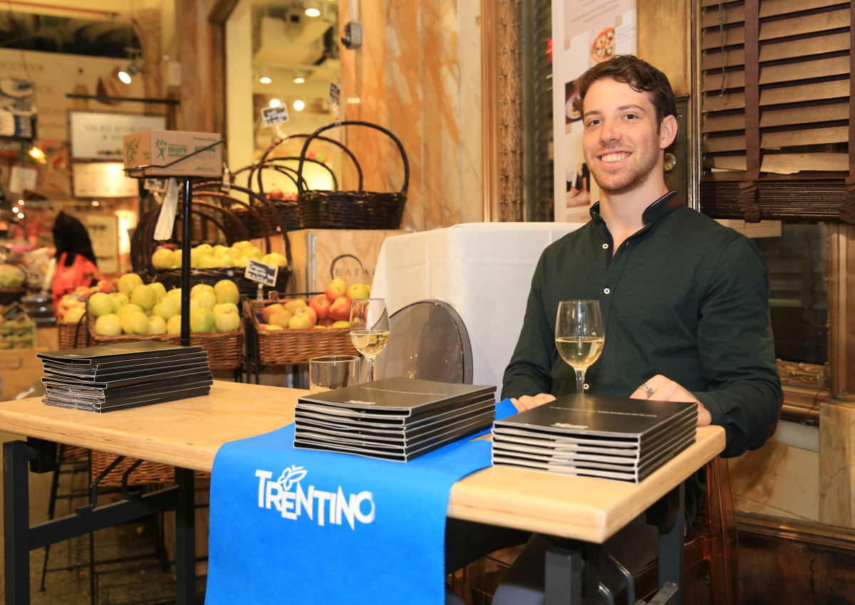 At Eataly NY: discovering the food of Trentino