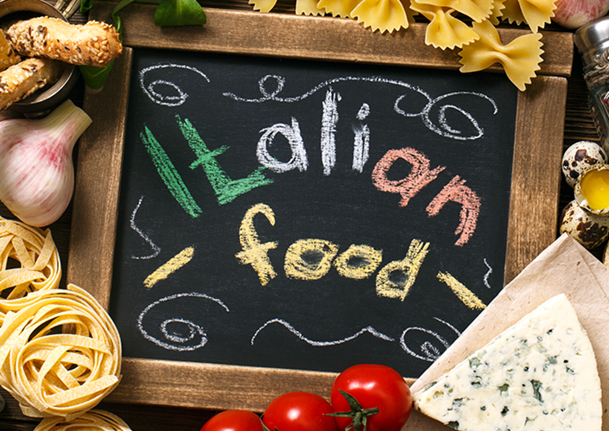 What is the tourists' favourite Italian food?