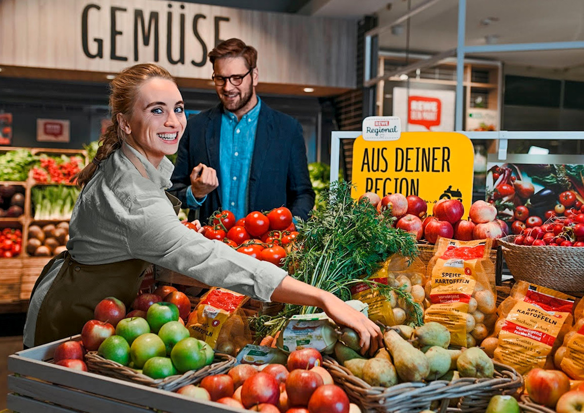 Rewe: adding value by inserting Italian fruits and vegetables