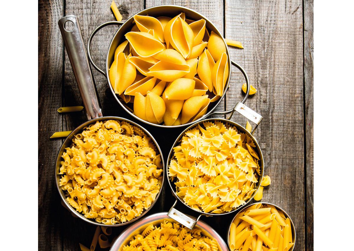 dry pasta types