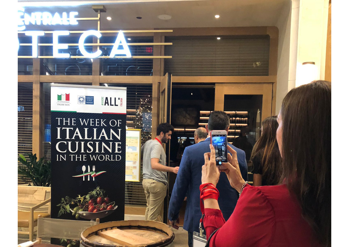 Italian cuisine week draws global food lovers