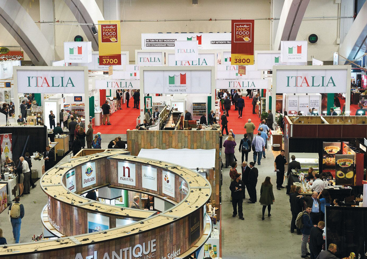 Italy Sets Excellence trend at Winter Fancy Food Show