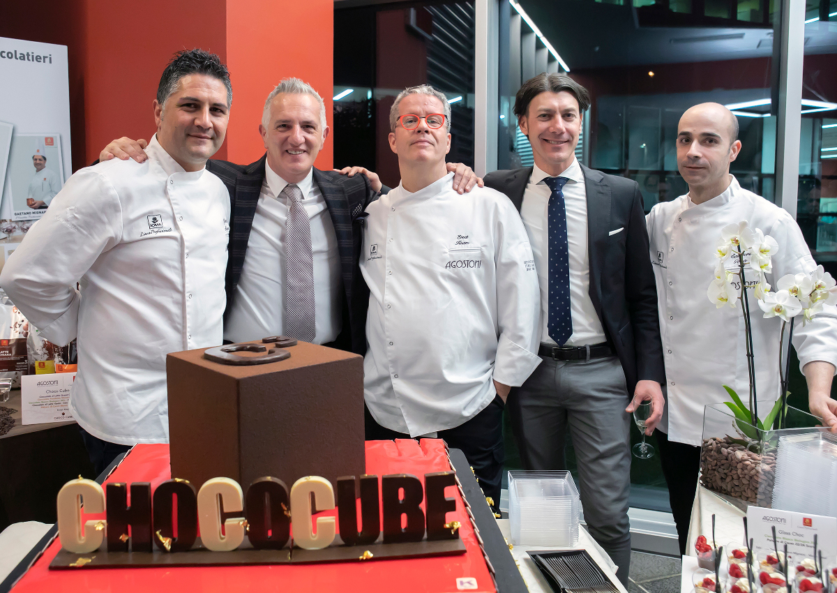 Italy's ICAM Presents Choco Cube Project
