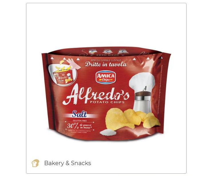 Alfredo's push pop salt-Amica Chips