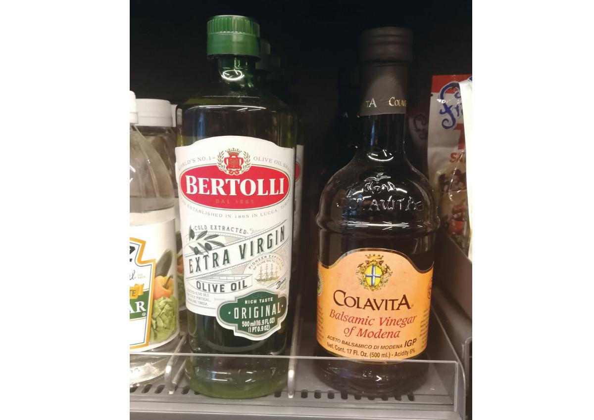 Bertolli olive oil-Amazon Go