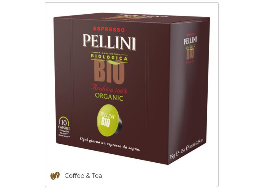 Italian coffee-Dolce Gusto compatible capsule Pellini BIO