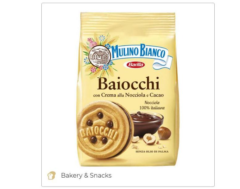 Baiocchi Mulino Bianco - Barilla