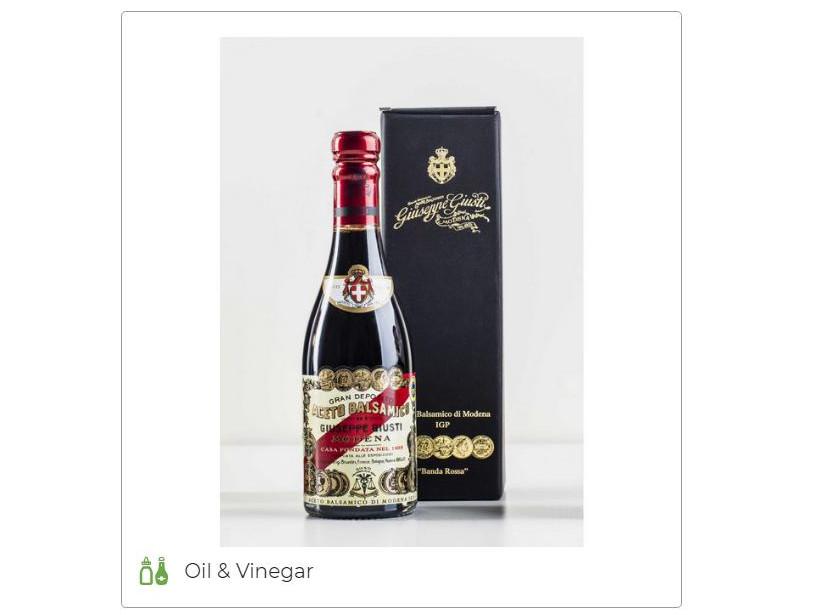 Balsamic Vinegar of Modena Giusti Banda Rossa - Acetaia Giusti