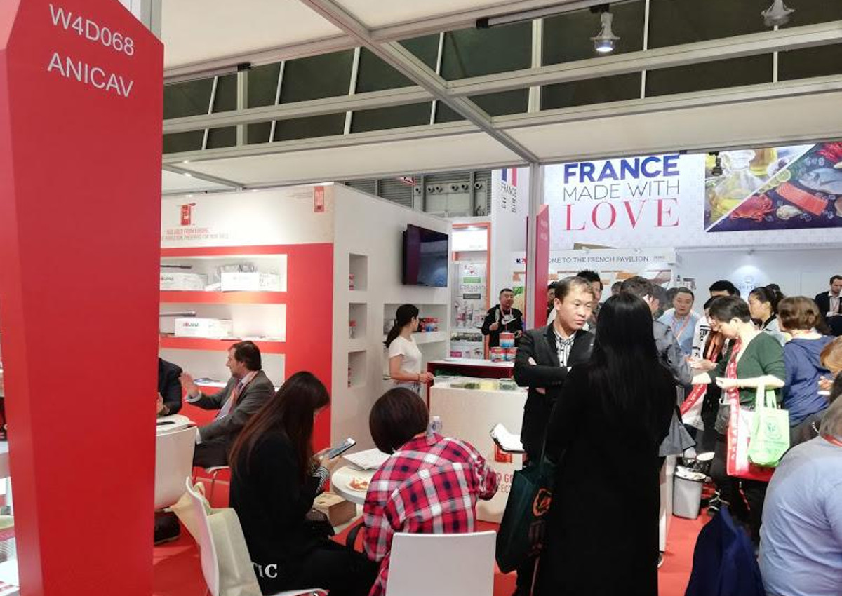 Red Gold from Europe at SIAL China