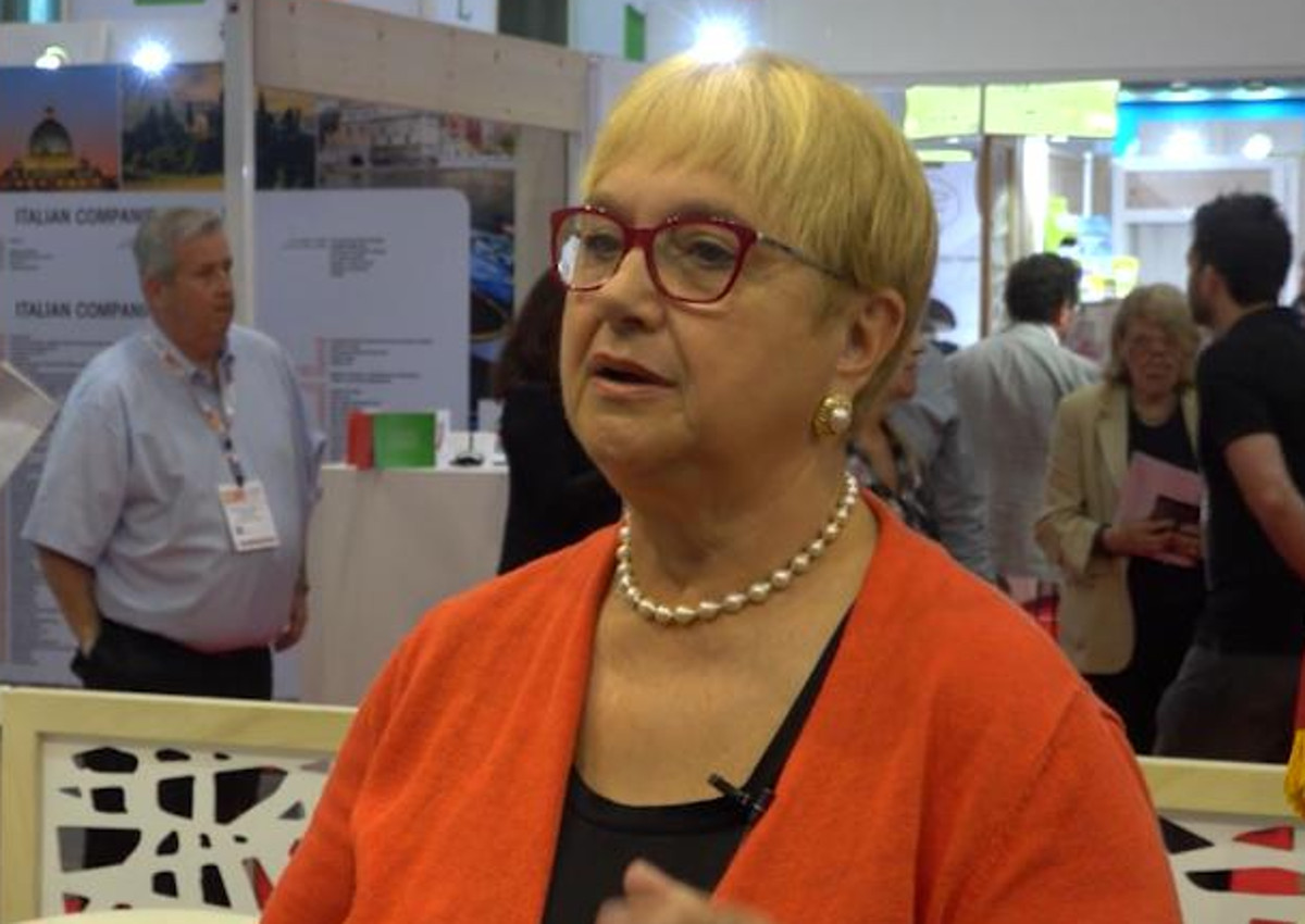 Lidia Bastianich, an Ambassador of Italy in the US