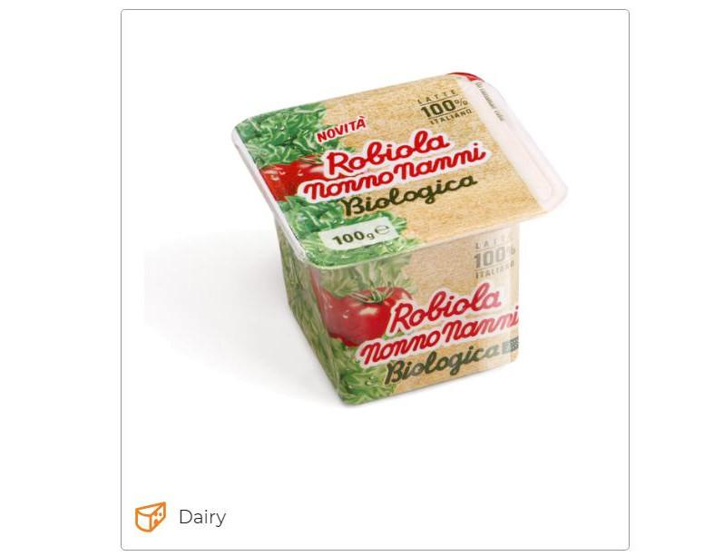 Nonno Nanni Organic Robiola - Latteria Montello