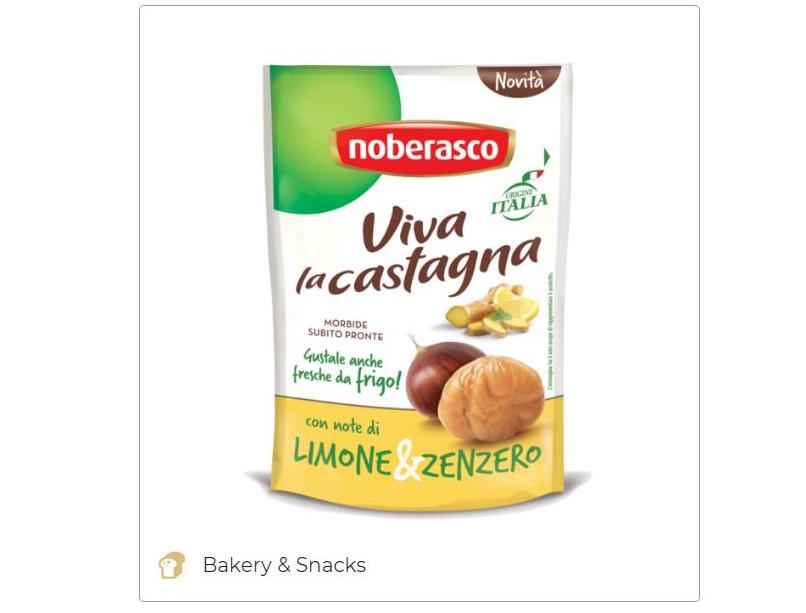 Soft chestnuts with lemon&ginger - Noberasco